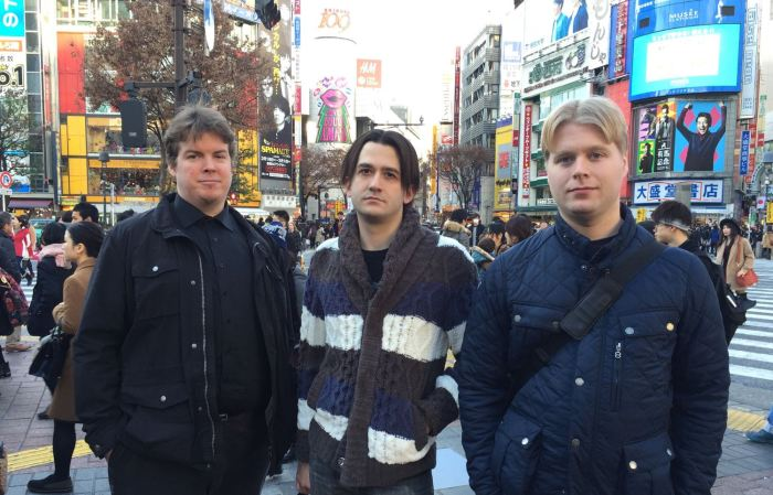 Independent investigators researching Mt. Gox's collapse, from left to right, Kim Nilsson, Jason Maurice, and Emil Oldenburg, from WizSec.